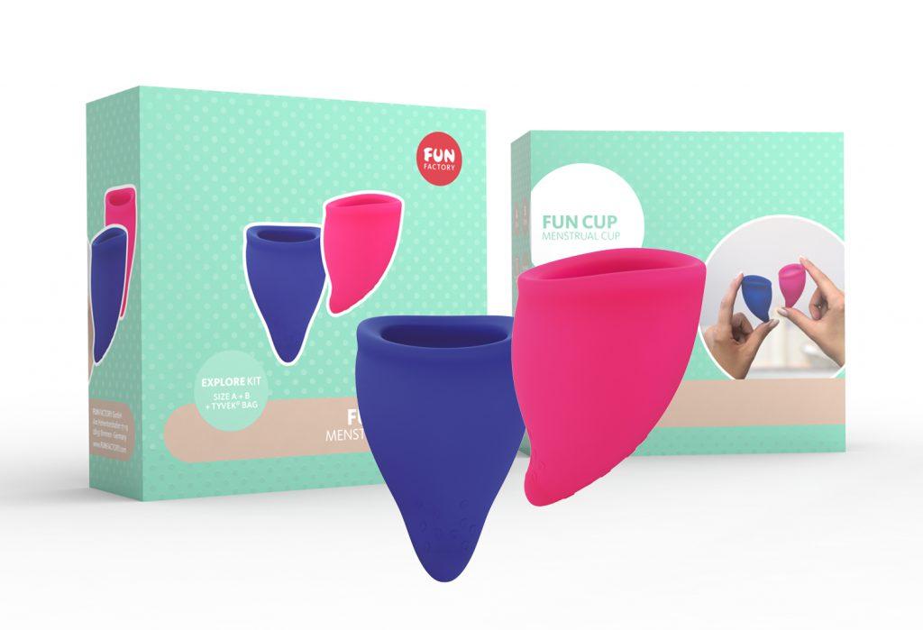 menstruatie fun cup kit A B