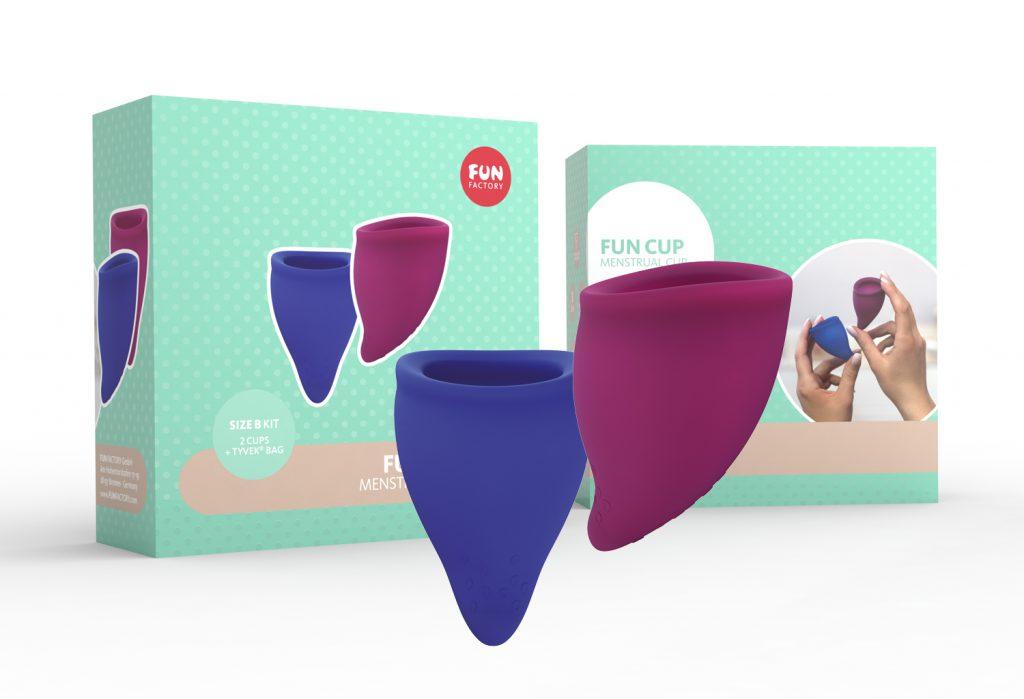 menstruatie fun cup maat B